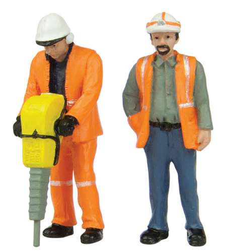 47-401 Scenecraft Lineside workers A (pack of 2 figures)